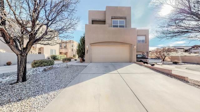 8704 Desert Fox Way NE, Albuquerque, NM 87122 (MLS #986166) :: Keller Williams Realty