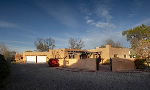 9129 Guadalupe Trail NW, Albuquerque, NM 87114 (MLS #955357) :: Berkshire Hathaway HomeServices Santa Fe Real Estate