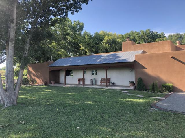 218 Camino Sabinal, Bosque, NM 87006 (MLS #949390) :: The Bigelow Team / Red Fox Realty