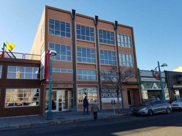 610 Central Avenue SW 4B, Albuquerque, NM 87102 (MLS #1003243) :: Campbell & Campbell Real Estate Services