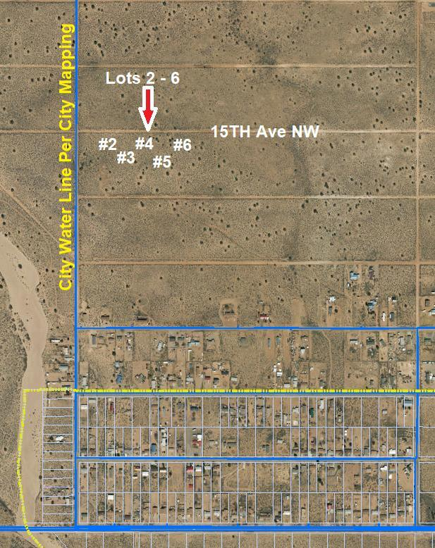 2 Acres 15th Avenue, Rio Rancho, NM 87144 (MLS #940156) :: Campbell & Campbell Real Estate Services