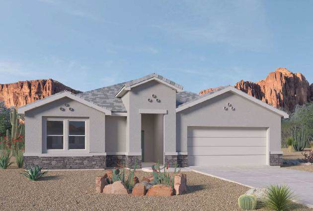 1906 Castle Peak Loop NE, Rio Rancho, NM 87144 (MLS #957531) :: Campbell & Campbell Real Estate Services