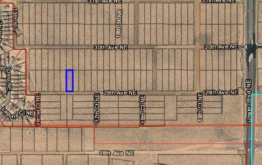 0 29th (U21b6l34) Avenue NE, Rio Rancho, NM 87144 (MLS #958816) :: Campbell & Campbell Real Estate Services