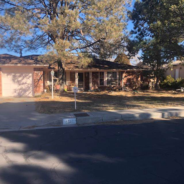 4716 Sherwood Street NE, Albuquerque, NM 87109 (MLS #960029) :: Campbell & Campbell Real Estate Services
