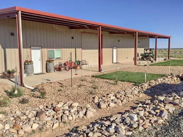 8911 Highway 55, Estancia, NM 87016 (MLS #968090) :: Berkshire Hathaway HomeServices Santa Fe Real Estate