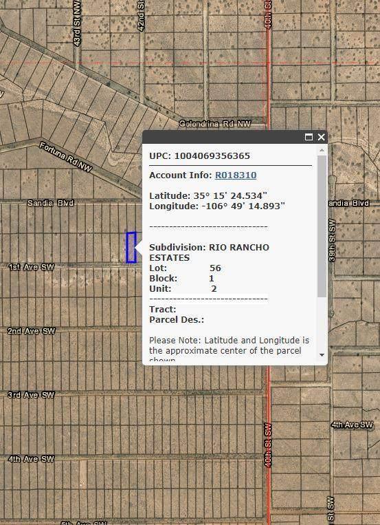 1st Avenue SW, Rio Rancho, NM 87124 (MLS #979764) :: The Buchman Group