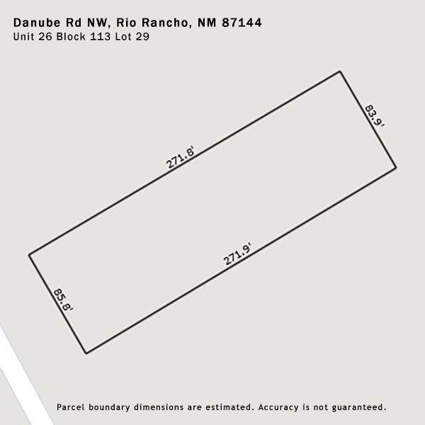 Danube Road NW, Rio Rancho, NM 87144 (MLS #993421) :: Campbell & Campbell Real Estate Services