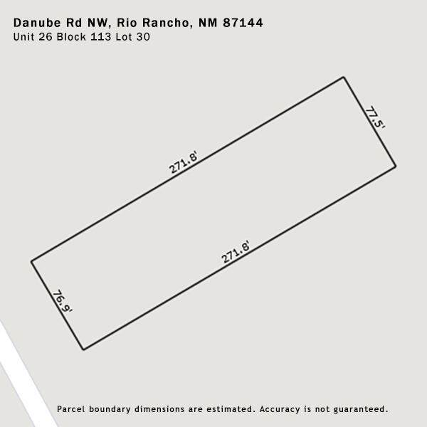 Danube Road NW, Rio Rancho, NM 87144 (MLS #993422) :: Campbell & Campbell Real Estate Services