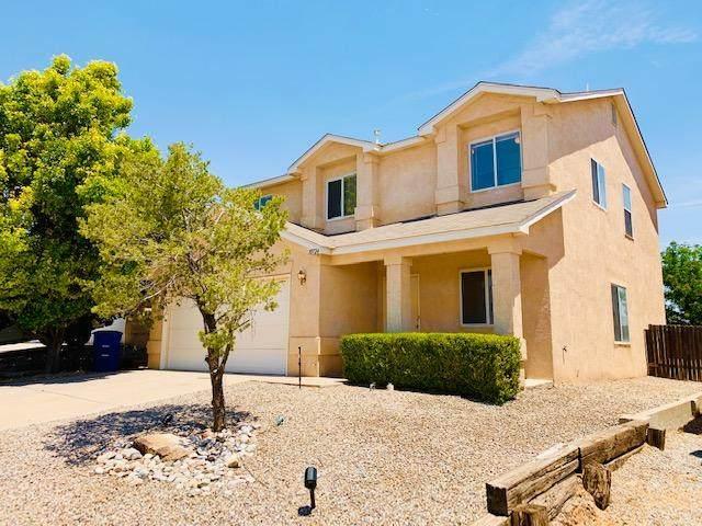 10724 Pinon Park Court NW, Albuquerque, NM 87114 (MLS #994340) :: Berkshire Hathaway HomeServices Santa Fe Real Estate