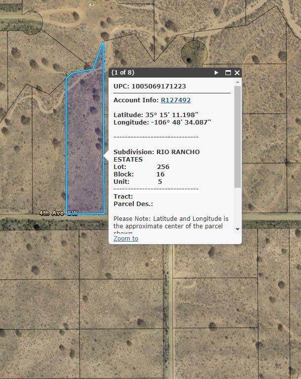 4th Avenue SW, Rio Rancho, NM 87124 (MLS #997097) :: Sandi Pressley Team