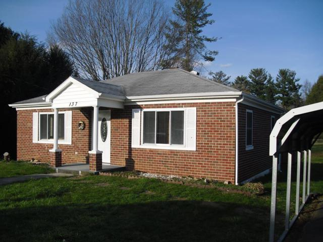 137 Rector Ave, Chilhowie, VA 24319 (MLS #63919) :: Highlands Realty, Inc.