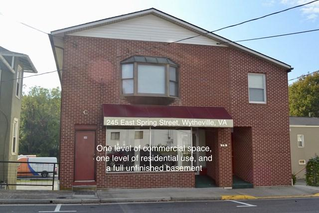 245 Spring Street, Wytheville, VA 24382 (MLS #62070) :: Highlands Realty, Inc.