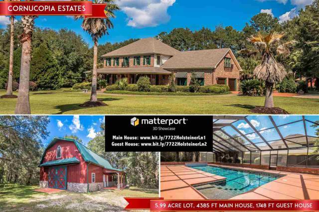 7722 Holsteiner Ln, Tallahassee, FL 32309 (MLS #287711) :: Purple Door Team