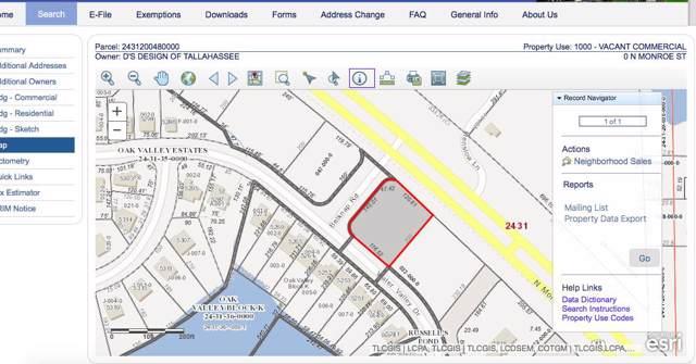 0 N Monroe, Tallahassee, FL 32303 (MLS #312086) :: Best Move Home Sales