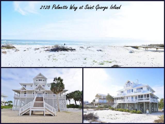2128 Palmetto Way, St George Islan, FL 32328 (MLS #312352) :: Best Move Home Sales