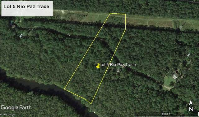 Lot 5 Rio Paz, Crawfordville, FL 32327 (MLS #315689) :: Best Move Home Sales