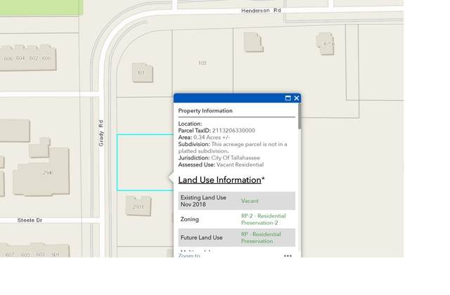2933 Grady Road, Tallahassee, FL 32312 (MLS #321515) :: Danielle Andrews Real Estate