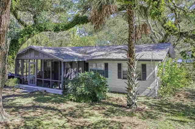 233 Clark Drive, Panacea, FL 32346 (MLS #328871) :: Team Goldband