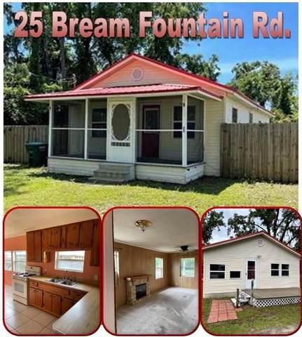 25 Bream Fountain Road, Crawfordville, FL 32327 (MLS #332324) :: Danielle Andrews Real Estate