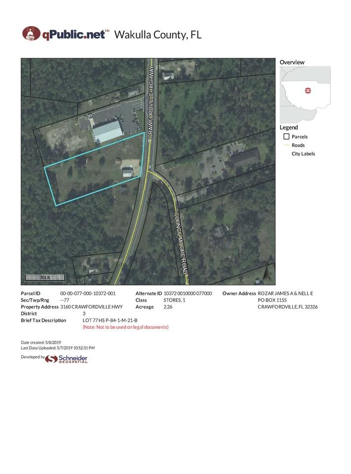 3160 Crawfordville Highway - Photo 1