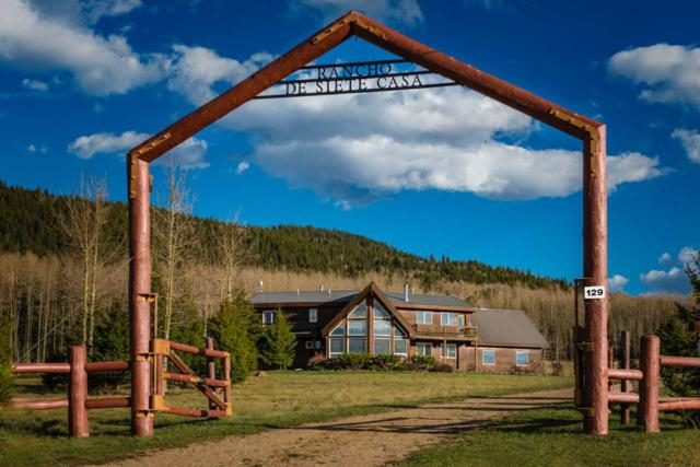129 Pine Rd, Angel Fire, NM 87710 (MLS #102060) :: The Chisum Realty Group