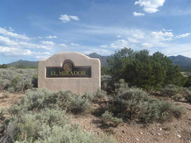 Lot 14 Calle Mirador, Taos, NM 87571 (MLS #102120) :: The Chisum Realty Group