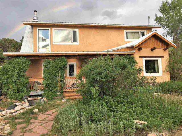 125 Quintana, Questa, NM 87556 (MLS #102220) :: The Chisum Realty Group