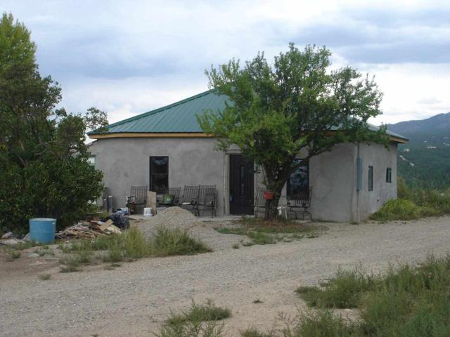 154 Rim Rd, Des Montes, NM 87514 (MLS #102254) :: The Chisum Realty Group