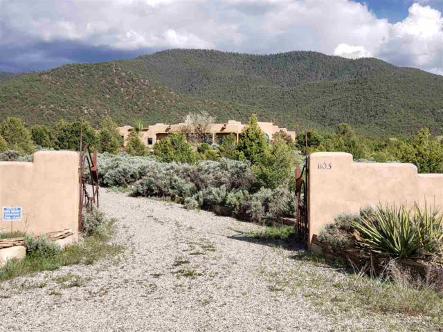 1103 Juniper Road, Taos, NM 87571 (MLS #103429) :: The Chisum Realty Group