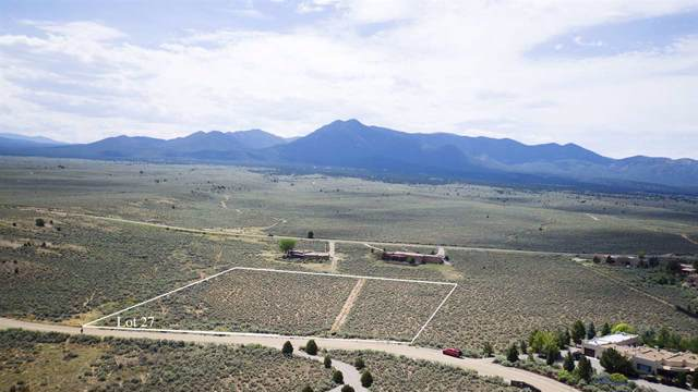 Lot 27 Taos County Club, Ranchos de Taos, NM 87557 (MLS #104044) :: Angel Fire Real Estate & Land Co.