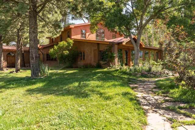 57 Geronimo Lane, Arroyo Seco, NM 87514 (MLS #104059) :: The Chisum Realty Group