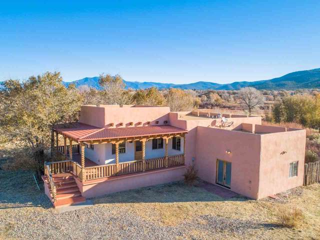 110 Vista Del Valle, Ranchos de Taos, NM 87557 (MLS #104419) :: Page Sullivan Group | Coldwell Banker Mountain Properties