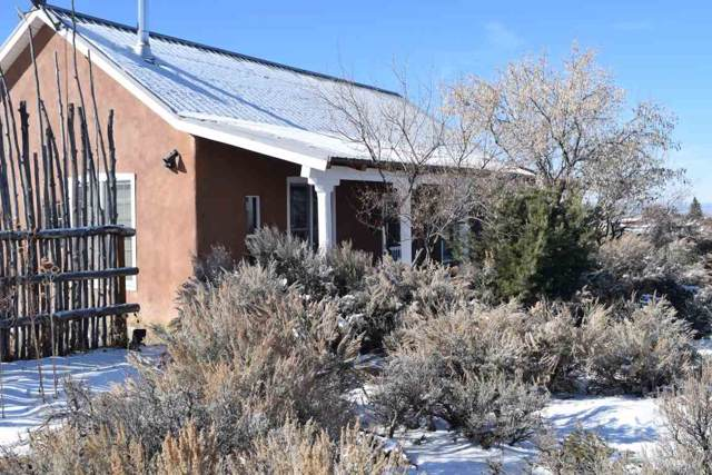 1227 Estrella Road, Taos, NM 87571 (MLS #104505) :: The Chisum Realty Group