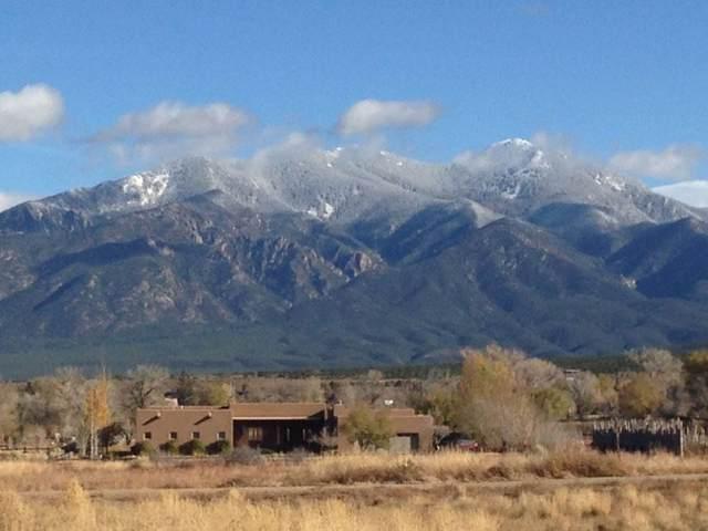501 Vegas De Taos Road, Taos, NM 87571 (MLS #104699) :: The Chisum Realty Group