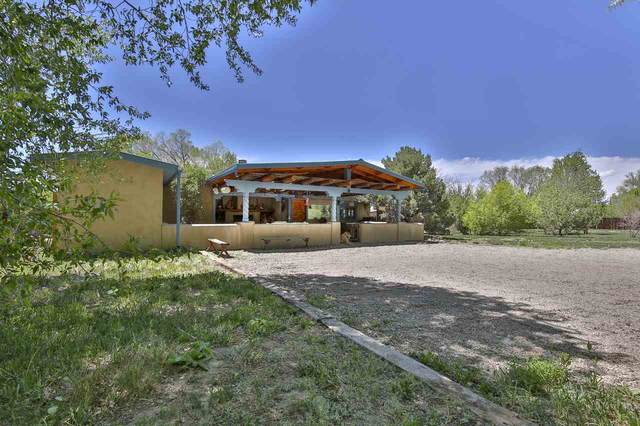 1015 Lower Ranchitos Road, Taos, NM 87571 (MLS #105134) :: The Chisum Realty Group