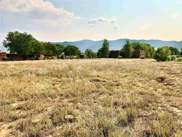 Vegas De Taos Road, Taos, NM 87571 (MLS #105770) :: The Chisum Realty Group