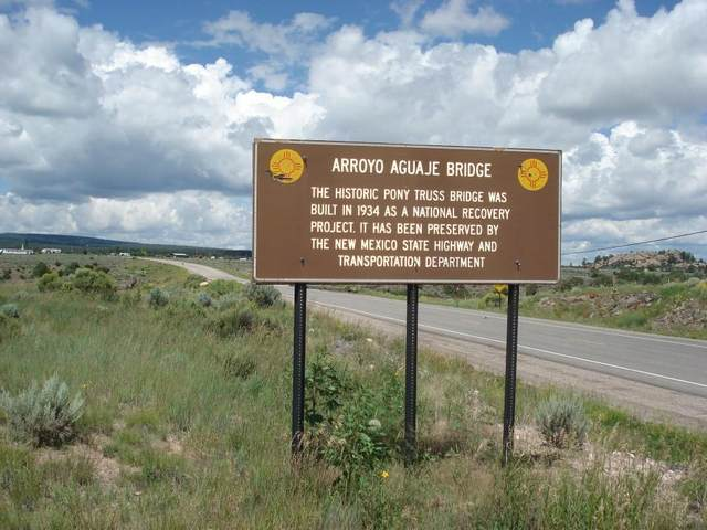 Hwy 64 near 285 Intersection, Tres Piedras, NM 87577 (MLS #105933) :: Chisum Realty Group