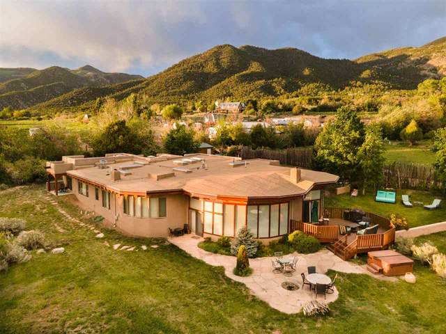 41 Calle Caballeros, Arroyo Seco, NM 87514 (MLS #107234) :: Chisum Realty Group