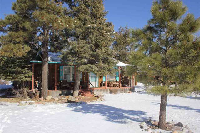 23 Hummingbird Lane, Ute Park, NM 87749 (MLS #104563) :: Angel Fire Real Estate & Land Co.