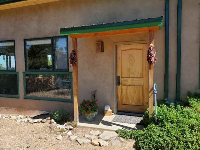 69 Upper Pinabete Rd, Questa, NM 87556 (MLS #105141) :: Angel Fire Real Estate & Land Co.