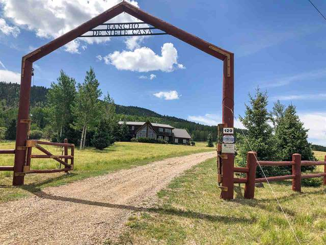 129 Pine Rd, Angel Fire, NM 87710 (MLS #105540) :: The Chisum Realty Group