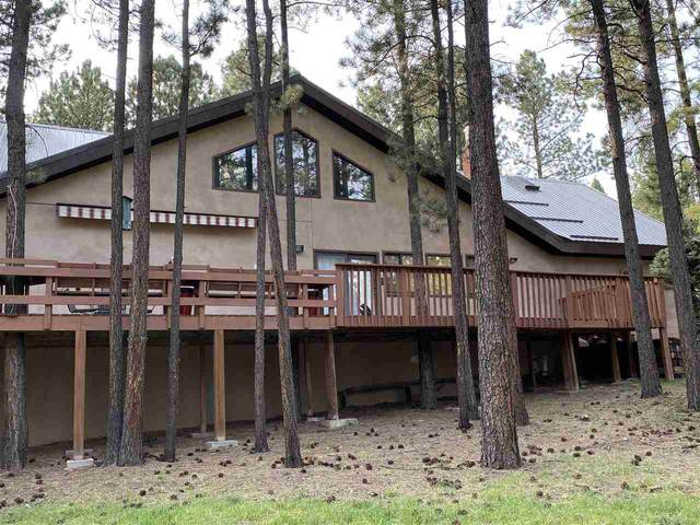 53 Cimarron Trail, Angel Fire, NM 87710 (MLS #105788) :: The Chisum Realty Group