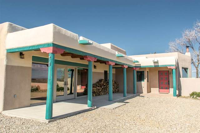 70 Irish Road, Ranchos de Taos, NM 87557 (MLS #104947) :: The Chisum Realty Group
