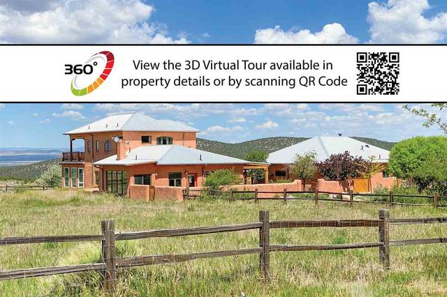 60 Vista Lejos, Arroyo Seco, NM 87514 (MLS #105155) :: Page Sullivan Group