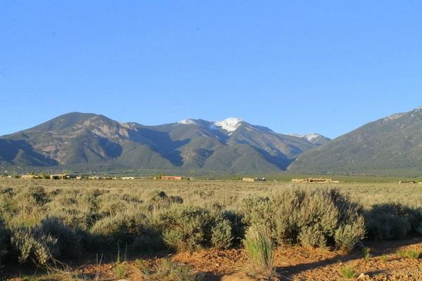 15 acres Buggy Road, El Prado, NM 87529 (MLS #102231) :: The Chisum Realty Group