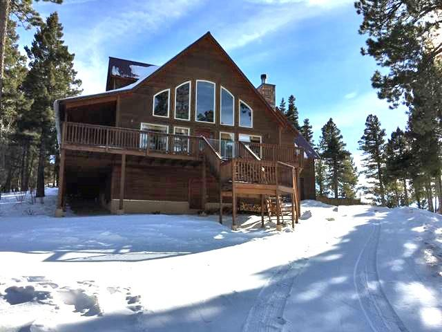 195 Back Basin Rd, Angel Fire, NM 87710 (MLS #102747) :: The Chisum Realty Group