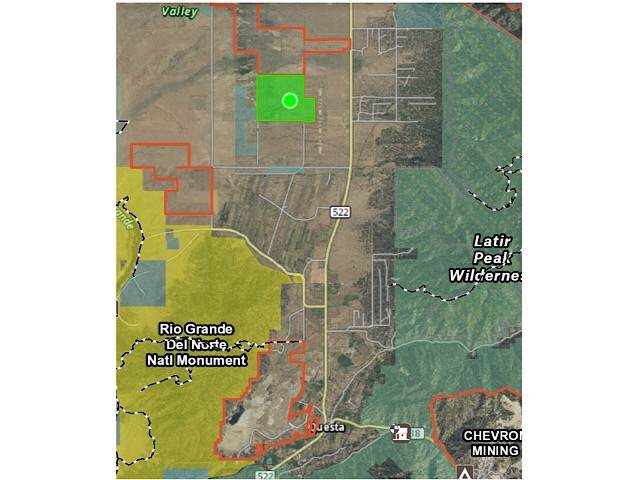 Off Arkay Ranch Road, Cerro, NM 87519 (MLS #104653) :: Angel Fire Real Estate & Land Co.
