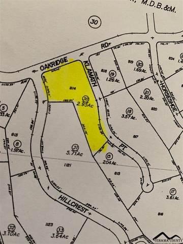 Lot 814 Oakridge Road, Corning, CA 96021 (#20210504) :: Wise House Realty