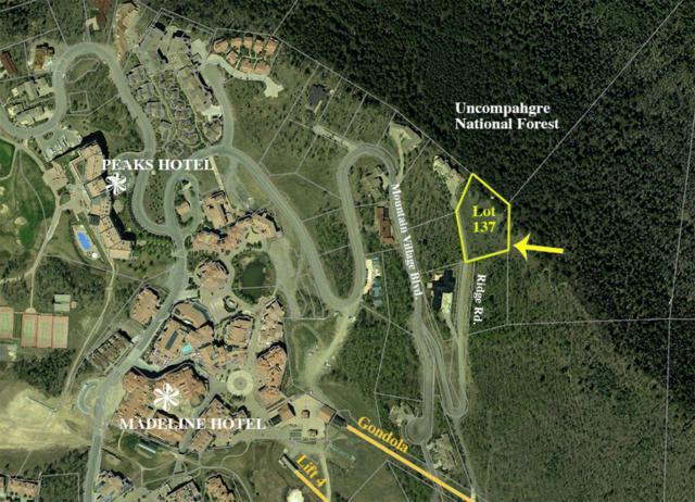 102 Granite Ridge #137, Mountain Village, CO 81435 (MLS #35797) :: Telluride Properties