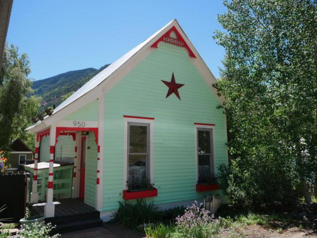 950 E Columbia Avenue, Telluride, CO 81435 (MLS #36150) :: Telluride Properties